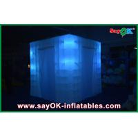 Buy cheap White Inflatable Trade Show Booth Light Square Tent Gathering Party from wholesalers