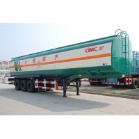 Buy cheap 2017 new truck trailers heavy duty tri axle fuel oil tanks for sale from wholesalers