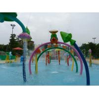 Buy cheap Galvanized Carbon Steel Water Spray Park Equipment Colorful Customized Water Toys from wholesalers