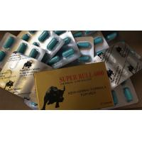 Buy cheap Super Bull 6000 Herbal Male Enhancement Pills Virility Ginseng Penis Enlargement from wholesalers