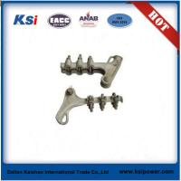 Buy cheap Electric Power Line ACSR ADSS Fittings / Aluminium Alloy Wedge Type Strain Clamp from wholesalers