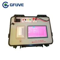 Buy cheap 4.8KG Weight CT PT Analyzer Voltage Transformer Analyzer 0.02% / 0.05% Accuracy from wholesalers