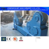 Buy cheap 150 Ton Self-aligned Welded Rotators Turntable 6 KW Heavy Duty product