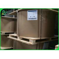 Buy cheap 80 - 120gsm White Recycled Kraft Paper Liner For Handbag / Shopping Bag from wholesalers