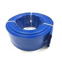 Buy cheap Blue PVC Layflat Hose Aging Resistant Large Diameter PVC Pipe For Drip Irrigation from wholesalers