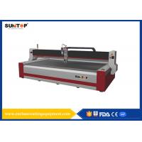 Buy cheap 37KW CNC Water Jet cutting machine 1500*3000mm FDA for glass from wholesalers