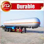 Buy cheap Shandong Fudeng 52000 liters 3 axles lpg tank trailer price/ lpg gas tanker semi trailer for sale from wholesalers