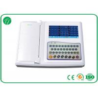 Buy cheap Real - Time Automatic Analysis Portable ECG Machine 12 Channel Protection Circuit from wholesalers