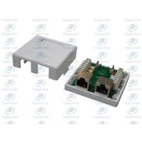 Buy cheap CL-OLSB-02  Wall socket 2Port with STP Cat.5e PCB Module from wholesalers