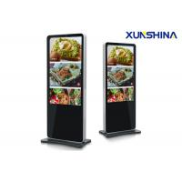 Buy cheap LED Advertising Android 49 inch Floor Stand Digital Signage 300cd/m2 with Free Software from wholesalers
