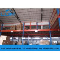 Buy cheap Customized Metal Industrial Mezzanine Floors Racking System Powder Coated from wholesalers