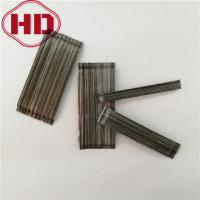Buy cheap Glued steel fiber for concrete reinforcement from wholesalers