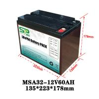 Buy cheap Rechargeable Battery Pack 12v Output , NCM/LiFePO4 Car Battery Backup from wholesalers