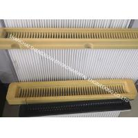 Buy cheap Flat Type High Flow Panel Pleated Filter Cartridge 500 mm Flange Width For Cement Silo Top from wholesalers