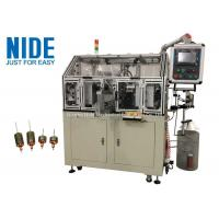 Buy cheap Three Phase Motor Rotor Armature Winding Machine Stack Length 20 - 60mm from wholesalers