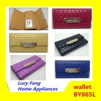Buy cheap China Hot Fashion Woman Cheapest and High Quality Cow Leather Wallet from wholesalers