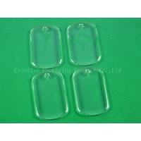 Buy cheap Rectangle clear epoxy stickers product