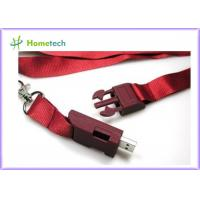 Buy cheap High Speed Lanyard USB Flash Drives , High Capacity Custom Thumb Drives product