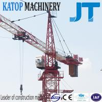 Buy cheap 5t load QTZ63-TC5010 tower crane with factory price from wholesalers