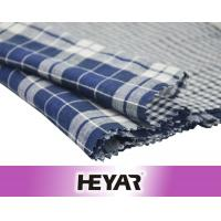 Buy cheap Indigo Blue White Checks High Quality Cotton Fabrics for Shirts from wholesalers