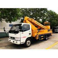 Buy cheap 20 Meters Aerial Platform Truck Dongfeng High Altitude Platform Bucket Lift Truck from wholesalers