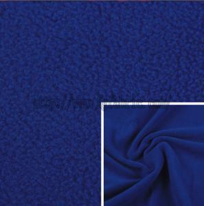 Buy cheap Solid Dyed Spun Polar Fleece Plain Polar Fleece 100% Polyester Terry Fleece KFE-033 product