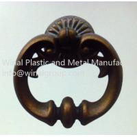 Buy cheap Antique brass pull ring door handle,furniture drawer handle,L70mm*W64mm.decorated&durable. from wholesalers