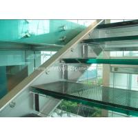 Buy cheap Double Glazed Window Laminated Safety Glass Panels 4.38mm Annealed Security from wholesalers