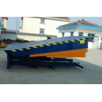 Buy cheap Stationary Type Loading Dock Ramp for Loading Cargo , 10000Kg from wholesalers