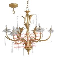 Buy cheap YL-L1016 Best Vintage Home Decorative Hanging Metal Lamp, Restaurant Bar Led Metal Chandelier Lighting with Lowest price from wholesalers