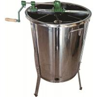 Buy cheap Stainless Steel  4 Frame  Manual  Honey Extractor  Honey Tank With Stainless Steel Stands For Beekeeping from wholesalers