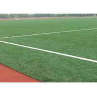 Buy cheap 12000 Dtex Natural Looking Outdoor Artificial Turf For Football Field Fire Resistant from wholesalers