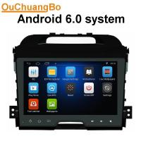 Buy cheap Ouchuangbo car gps navi audio stereo android 6.0 for Kia Sportage 2010-2012 with MP3 MP4 SWC music microphone DDR3 1GB from wholesalers