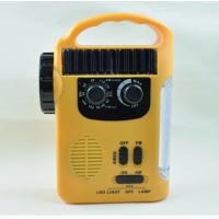Buy cheap RD339 Solar Dynamo Powered AM FM Radio with 5 LEDs Flashlight 8 LEDs Emergency Lamp For Outdoor Activities from wholesalers