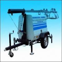 Buy cheap Mobile Generator Light Tower with 440,000lm Luminous Flux from wholesalers