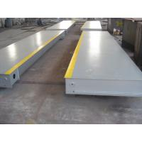 Buy cheap 80 Ton Accurate Truck Weighbridge Scales , Flat Plate For High Container Pit Mounted from wholesalers