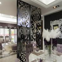 Buy cheap Laser Cutting Stainless Steel Screen Design for interior wall decorative panel customized design from wholesalers