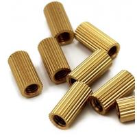 Buy cheap Customized Heavy Hex Nuts Non Standard Brass Knurled Insert Nut ISO 7045 from wholesalers
