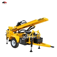 Buy cheap DTH Hydraulic Trailer Borehole Rig With Mud Pump from wholesalers