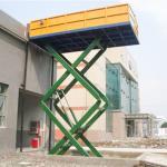 Buy cheap China Tavol General Industrial 3 ton hydraulic goods platform scissor lift from wholesalers
