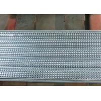 Buy cheap Model 030 Steel Corrugated Sheets High Ribbed Formwork Mesh For Building , Market In African from wholesalers