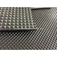 Buy cheap Car Mat Black Color Rubber Sheet Roll , Rubber Mat Roll 3mm X 1.5m X 15m from wholesalers