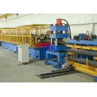Buy cheap Two Wave Guardrail Roll Forming Machine For Two W Beams Crash Barrier Tri product