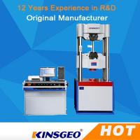 Buy cheap Computer Servo Electronic Hydraulic Universal Testing Machines For Metallurgy from wholesalers