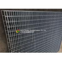 Buy cheap Mild Steel Grating Wire Mesh Fence Large - Scale For Civil Engineering product