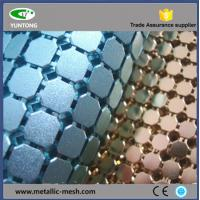 Buy cheap Fashionable and beauty metal sequin table cloth from wholesalers