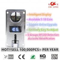 Buy cheap Commercial Mechanical Coin Acceptor Machine For Message Chairs Easy To Use from wholesalers