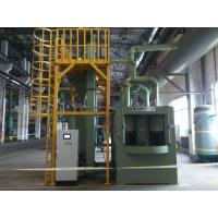 Buy cheap 380v 50hz Rotary Turntable Automatic Sand Blasting Machine Environment Protection from wholesalers