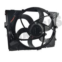 Buy cheap DV12 400W 12 Volt Car Cooling Fan For BMW E90 OEM 1711 7590 699 / Electric Radiator Cooling Fans product