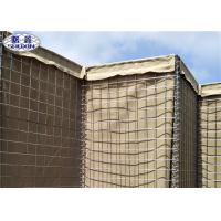 Buy cheap Military Sand Filled Barriers / Gabion Defence Barriers 3 Years Warranty from wholesalers